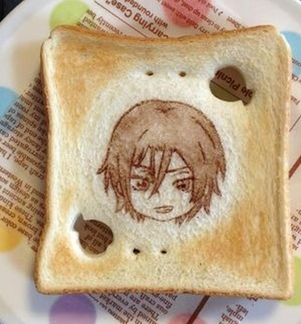 """actualidad anime comida Concursos japon kawaii manga noticias ocio sociedad  Cuidado """"Arte Latte"""", llega el """"Arte Pan"""""""