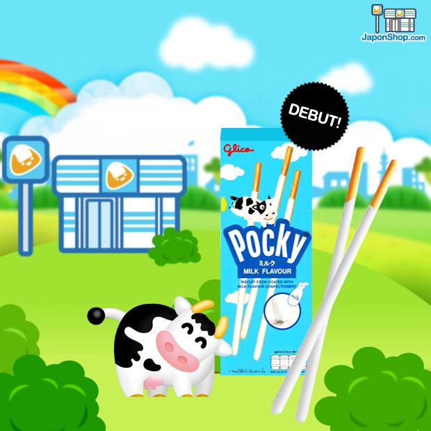 Novedad en JaponShop.com! Pocky Pocket Milk Cream