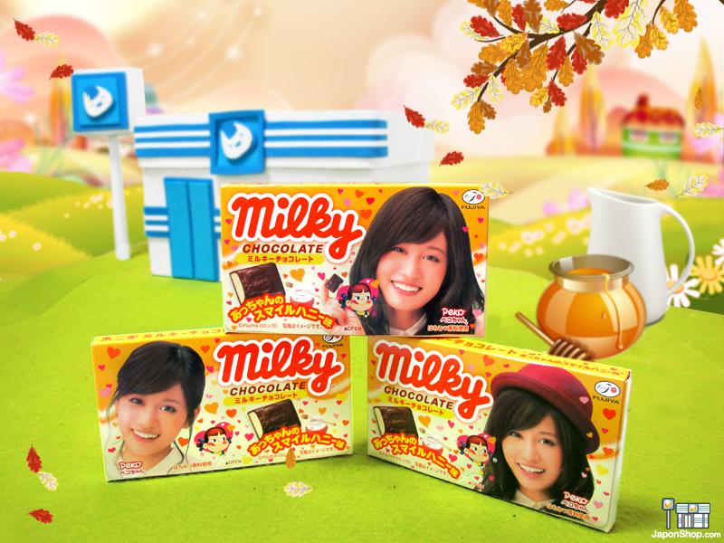 Combini Lovers Review: Bombones de Peko Chan Milky & Honey | Edición Maeda Atsuko