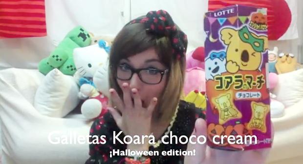 """Combini Lovers comida japonshop video  Bella realiza una nueva """"Video Reseña"""" Edición Halloween de su pedido en JaponShop.com"""
