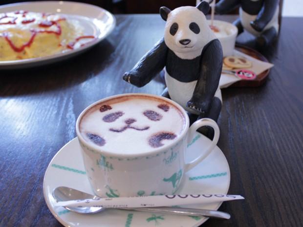Bienvenidos al Panda Coffeehouse de Tokyo