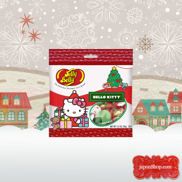 Novedad en JaponShop.com! Gominolas Jelly Belly | Edición Hello Kitty Christmas Mix