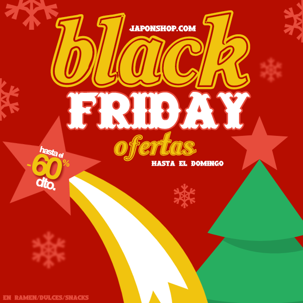 "¡Ofertas ""Black Friday"" en JaponShop.com!"