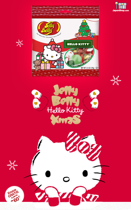 Combini Lovers comida japonshop  Novedad en JaponShop.com! Gominolas Jelly Belly | Edición Hello Kitty Christmas Mix