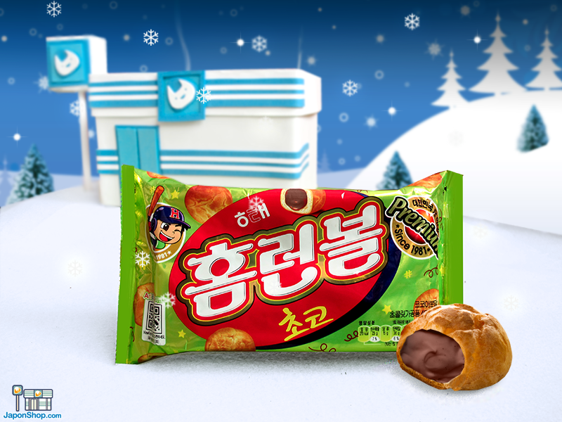 Combini Lovers: Petisús Coreanos de Mousse de Chocolate con Leche | Homronbol Choco