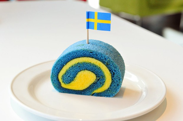 actualidad comida curiosidades japon kawaii negocios ocio sociedad  Los postres bicolor de IKEA Japón