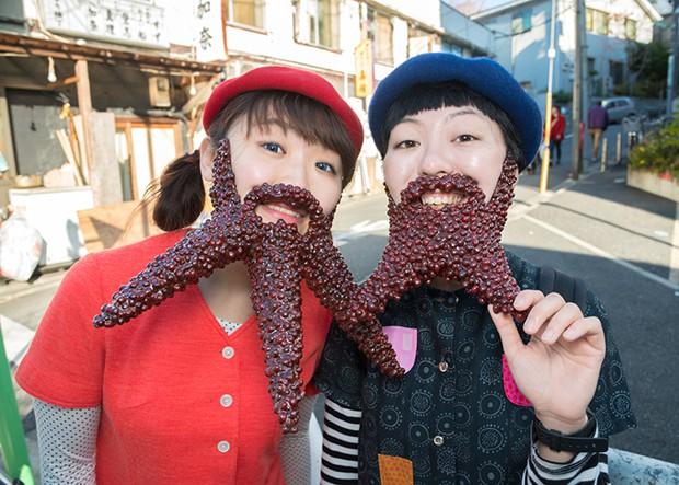 """""""Azurer"""", la nueva tendencia en Japón que consiste en lucir barbas de judías"""