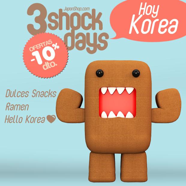 """¡Llegan a JaponShop.com las Ofertas """"3 SHOCK DAYS""""  con un Descuento del 10%!"""