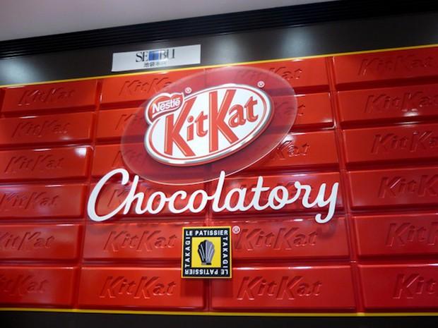 """Chocolatory Tokyo"", primera tienda Kit Kat Gourmet del mundo"