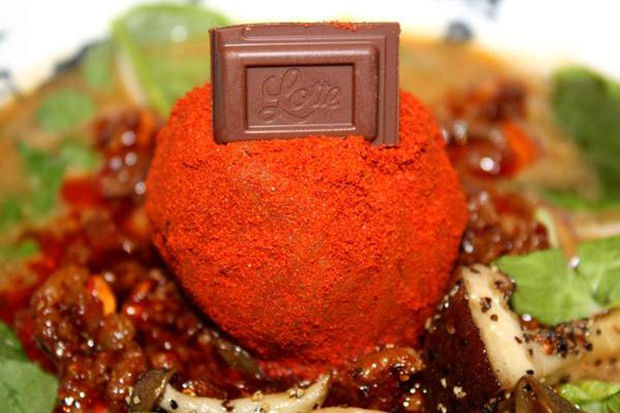 actualidad comida curiosidades japon sociedad  Ramen de San Valentín con miso y chocolate, edición 2014