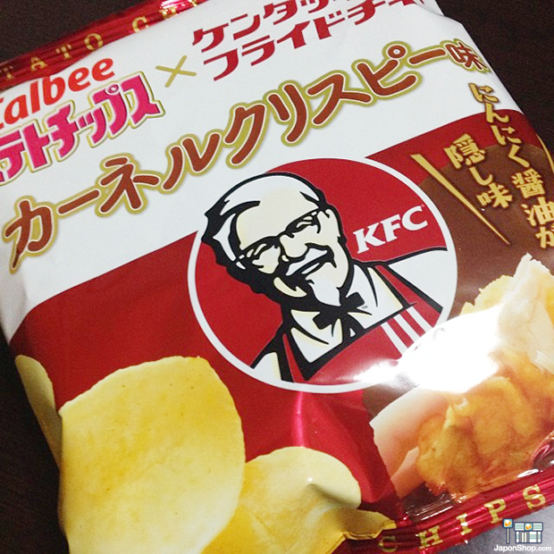 Combini Lovers comida curiosidades japonshop negocios sociedad  Combini Lovers Review: Patatas Chips Sabor a Pollo Frito de Kentucky Fried Chicken