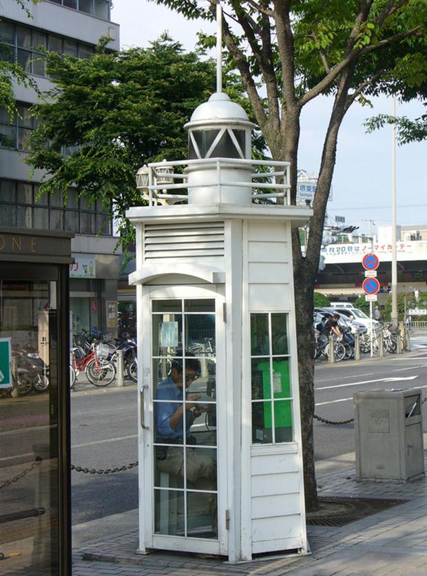 curiosidades japon sociedad  Las curiosas cabinas telefónicas japonesas
