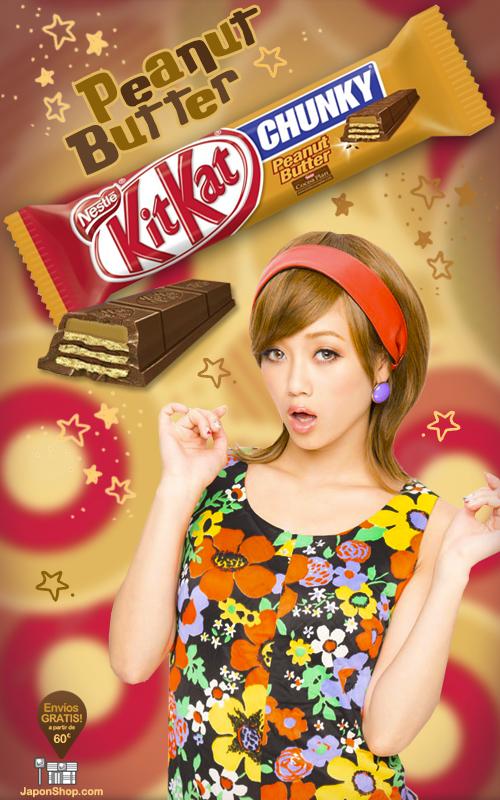 Combini Lovers comida japonshop noticias  Combini Lovers Review: Gran Kit Kat de Chocolate y Crema de Cacahuete
