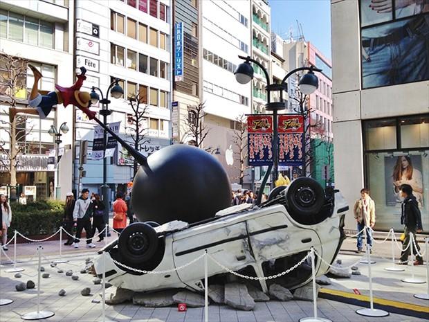 """actualidad anime curiosidades japon negocios noticias ocio sociedad tokyo  Batalla campal entre """"Son Goku"""" y """"Luffy"""" en pleno Shibuya"""