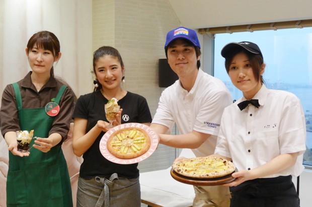 actualidad comida curiosidades japon negocios ocio recetas sociedad  Lo último en Japón; Pizza de Kit Kats