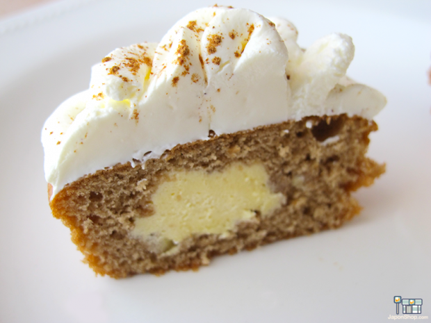 """Combini Lovers comida corea japonshop recetas  Como convertir tu Choco Pie con Crema de Tiramisú en un """"Cupcake"""""""