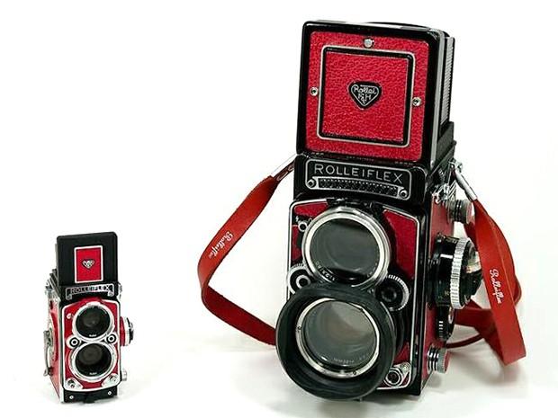 """actualidad corea curiosidades sociedad  Una cafetería dentro de una cámara de fotos """"Rolleiflex"""""""
