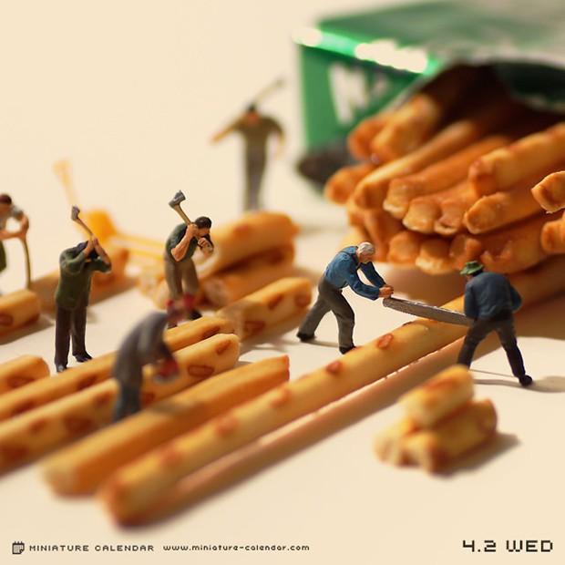 actualidad comida curiosidades japon kawaii ocio sociedad  Un diminuto mundo japonés