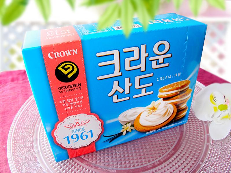 Combini Lovers Review: Galletas Coreanas de Crema de Helado de Vainilla