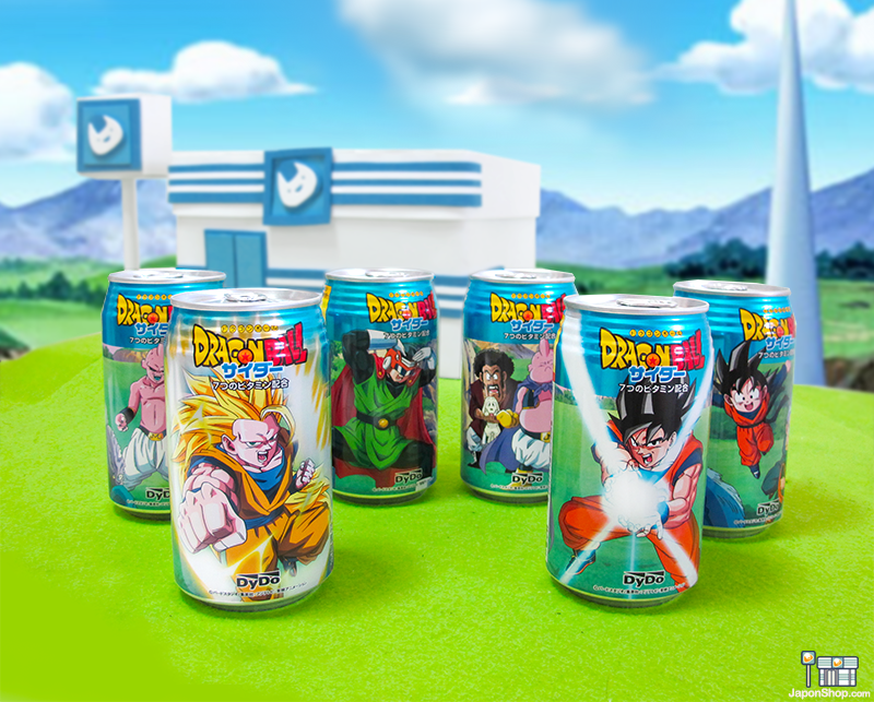 Combini Lovers Review: Refresco Soda Ramune Dragon Ball | Edición Coleccionista