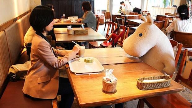 """No estes solo, toma un café acompañado por un Troll """"Moomin"""""""
