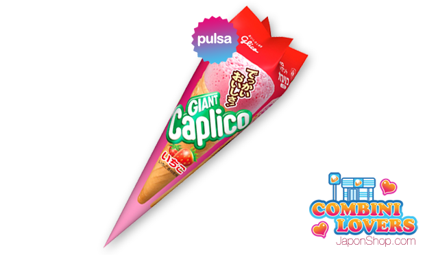 Combini Lovers comida japonshop tv video  Combini Lovers Review: Snack Ice Cream Strawberry & Choco | Giant Caplico