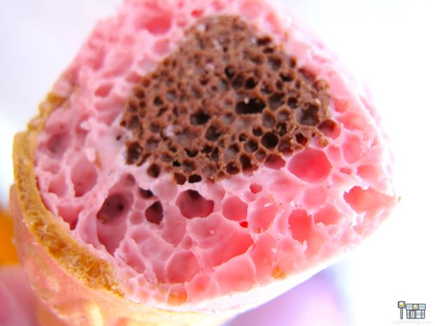 Combini Lovers comida japonshop tv video  Combini Lovers Review: Snack Ice Cream Strawberry & Choco   Giant Caplico