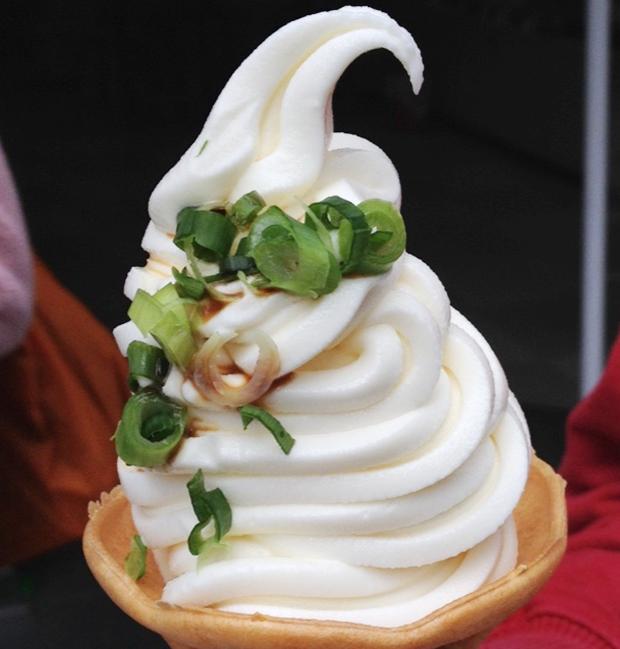 comida curiosidades japon ocio sociedad  ¿¡Helado de Udon!?