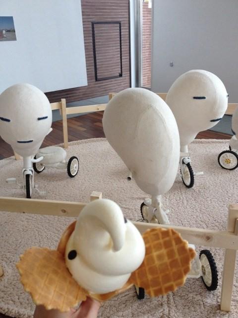 """animales comida curiosidades japon kawaii ocio sociedad  Los Helado """"Elefante"""""""