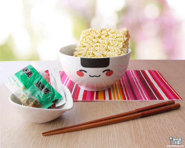 """Combini Lovers japonshop kawaii  Nuevos Bols para Ramen con nuestras mascotas """"Onigiri Kun"""" y """"Mochi San"""" !"""