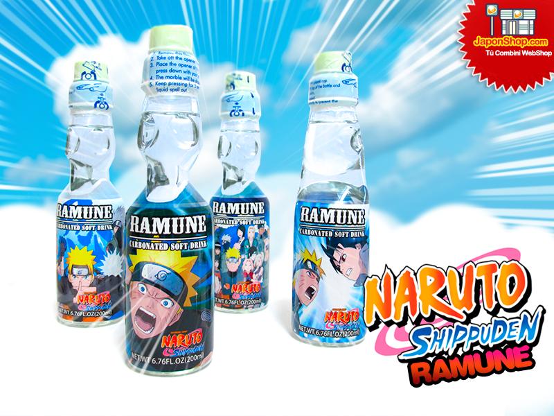 Novedad en JaponShop.com! Soda Ramune | Edición Naruto Shippuden!