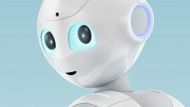 """Sin categoría  Pepper, el primer robot doméstico presentado por la telefonía """"Softbank"""""""