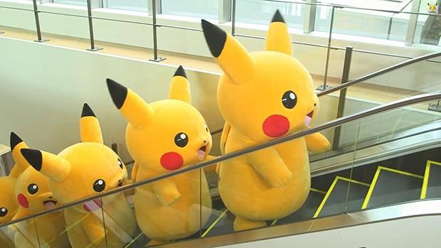 """Yokohama invadida por una plaga de """"Pikachus"""""""