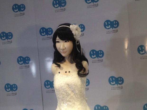actualidad curiosidades japon musica sociedad tecnologia video  Crean un Androide réplica de la Idol de AKB48, Yuki Kashiwagi