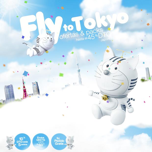 """OFERTAS de Verano """"Fly to Tokyo"""" JaponShop.com"""