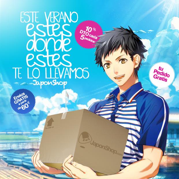 """actualidad Combini Lovers japonshop  OFERTAS de Verano """"Fly to Tokyo"""" JaponShop.com"""