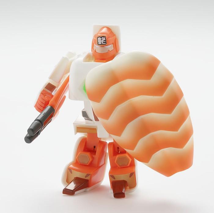 Los Sushi Robots transformables