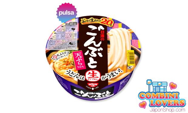 Combini Lovers comida japon japonshop  Combini Lovers Review: Fideos Udon Frescos Big Gonbuto con Tempura | Receta de Kansai