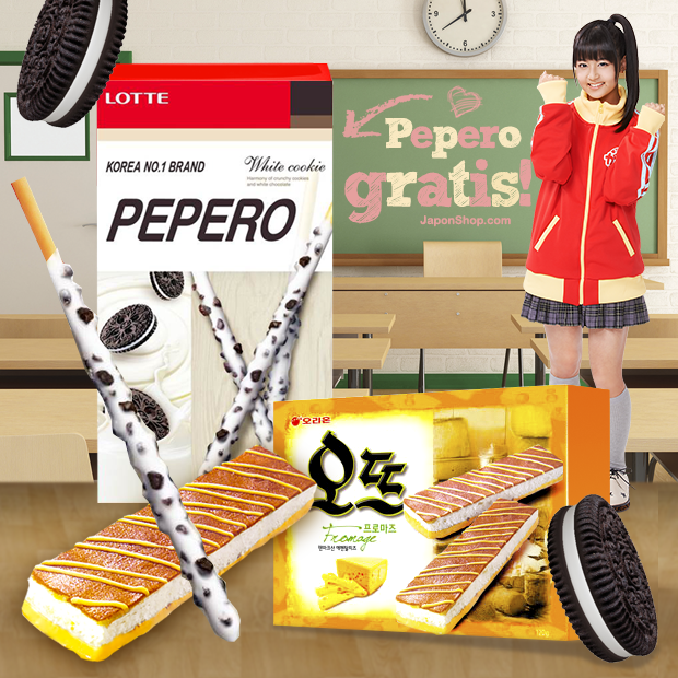 En JaponShop.com los nuevos Pepero de Cookies GRATIS !!