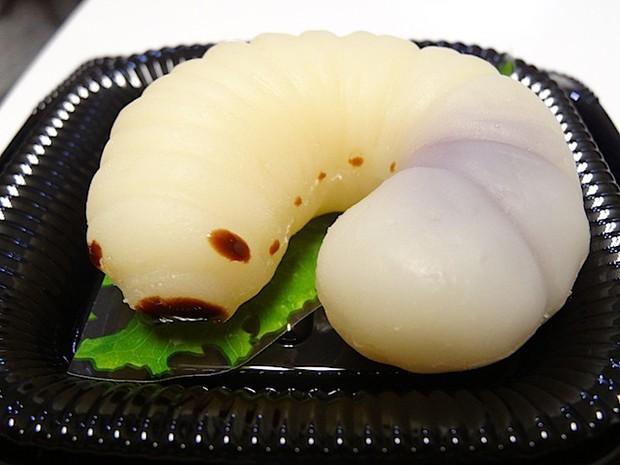 comida curiosidades japon sociedad  ¿Larvas? ¿Orugas? NO...¡Chuches!