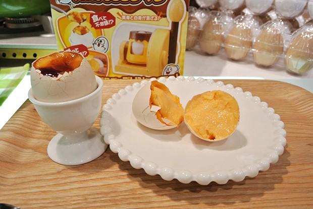 comida curiosidades japon kawaii ocio publicidad sociedad spots tecnologia video  Invento japonés: Transforma un huevo en Pudding! (Vídeos)