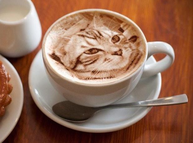 ¡Arte Latte ultra realista!