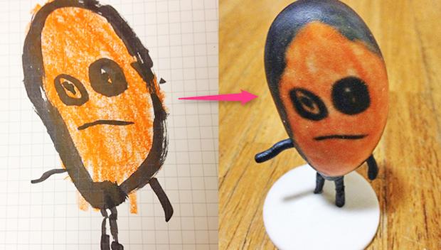 actualidad curiosidades japon kawaii negocios ocio sociedad  Lo último en Japón: Imprimir en 3D dibujos infantiles