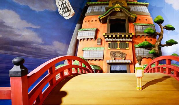 actualidad anime curiosidades japon kawaii manga ocio sociedad  Los personajes del Studio Ghibli recreados a la perfección en una exposición en Seúl