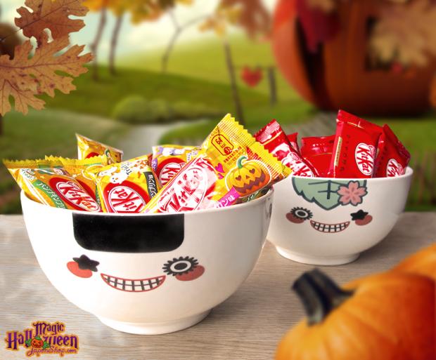 Combini Lovers comida japon japonshop  Combini Lovers Review: Kit Kat de Pudding de Calabaza Especial para Hornear | Edición Halloween