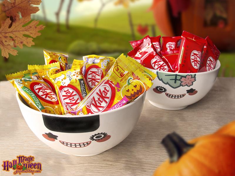 Combini Lovers Review: Kit Kat de Pudding de Calabaza Especial para Hornear   Edición Halloween