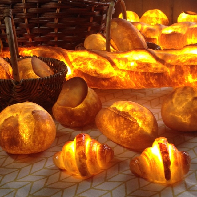 Nuevo invento japonés: Panes convertidos en lamparas!