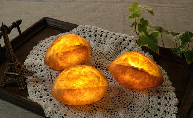 actualidad comida curiosidades japon kawaii negocios ocio sociedad  Nuevo invento japonés: Panes convertidos en lamparas!