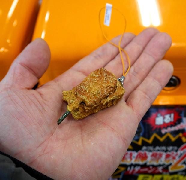 actualidad comida curiosidades japon negocios ocio sociedad  Lo último en Japón: Automóviles para la construcción y militares rebozados y fritos!