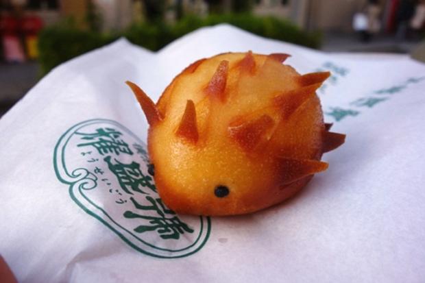 """animales curiosidades japon kawaii negocios ocio sociedad  Los adorables """"Erizos Bollo"""" de Yokohama"""